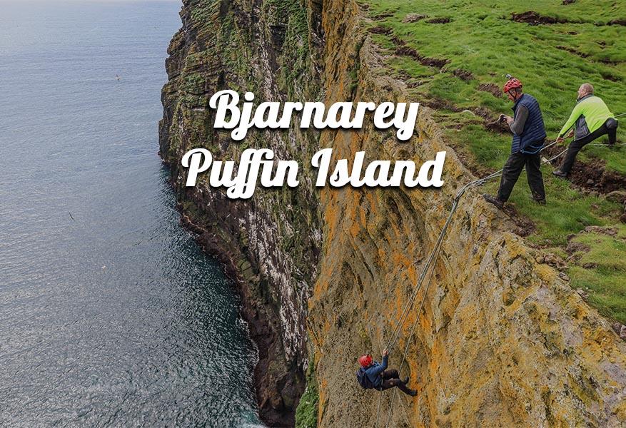 saca tour bjarnarey puffin island