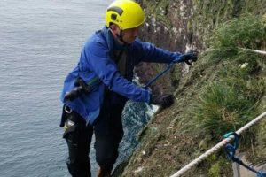 climbing bjarnarey puffin island tour